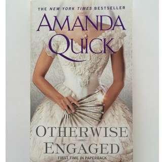 Amanda Quick Otherwise Engaged English Romance Pocketbook