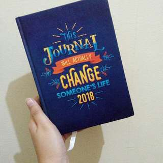 2018 planner- This journal will changes someones life