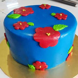 Birthday Cake, Fondant Cake, Custom Cake