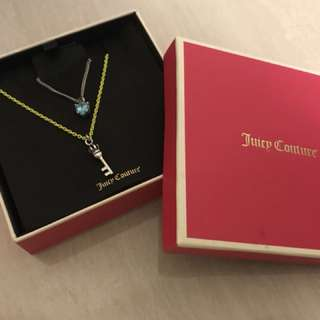 Juicy Couture Necklace Set