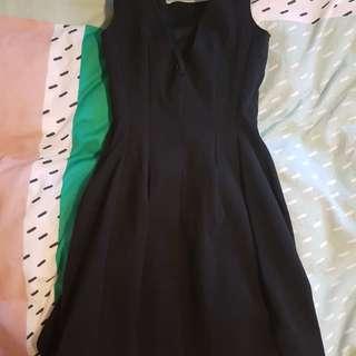 Zara black dress size 8