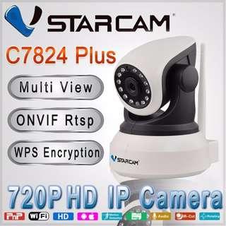 7824 Plus IP camera