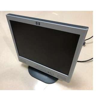 HP 15吋 LCD 顯示器 15inch Monitor (1024 x 768)