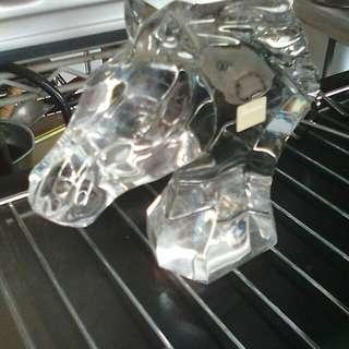 Baccarat 水晶馬頭