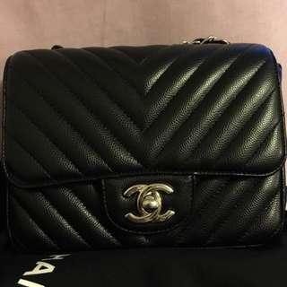 Chanel mini 17 V紋