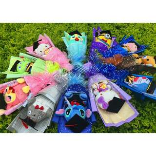 *FREE DELIVERY to WM only / Ready stock*      Toy bouquet as shown design/color.  Free delivery is applied for this item.