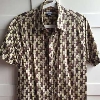 Paul Smith x EBoy Pixelated Full Print Shirt