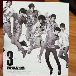 Super Junior 3rd Album #feb50