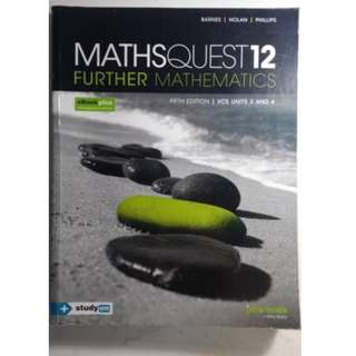 Maths Quest 12 - Further Mathematics 5th Edition