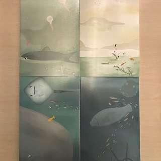B5 Underwater design notebook