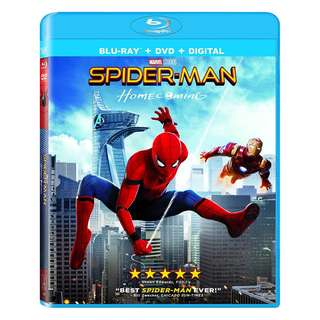 Brand New Spider-Man: Homecoming blu ray disc(sealed)