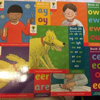 Oxford Reading Tree Phonics Book 20-24 (5本)