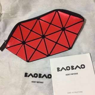 Issey Miyake Bao Bao Cosmetic Pouch - Red