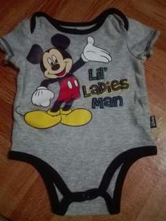 #2018 onesies for 0-6 mos mickey mouse