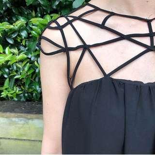 Shein cage dress