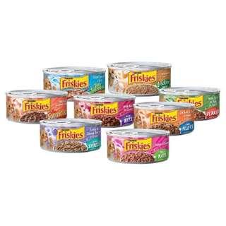 Friskies Cat Food 156g, 24 cans