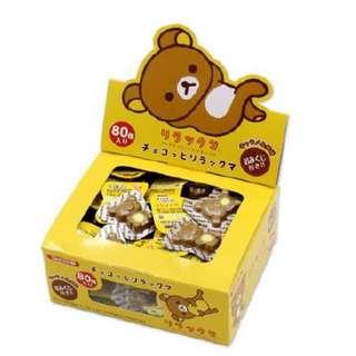 日本丹生堂拉拉熊造型巧克力
