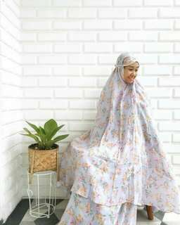 NEW Mukena Katun Silk - Shabby Chic