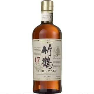 Taketsuru 竹鶴 17 Single Malt Japanese Whisky 700ml