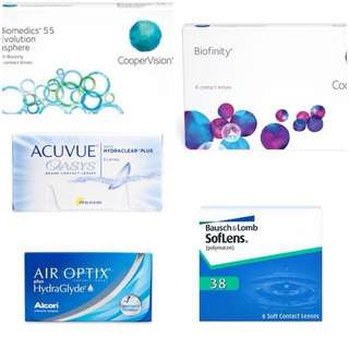 [instock all degrees available] Monthly disposable contact lens