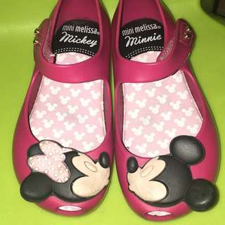 Authentic Mini Melissa Minnie and Mickey