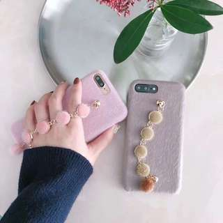 波波手鍊iPhone Case