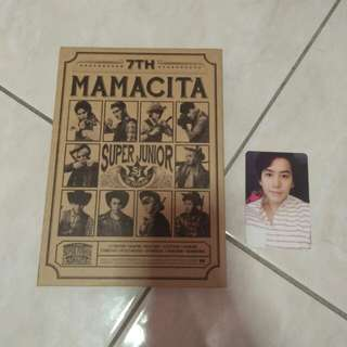 SUPER JUNIOR MAMACITA ALBUM