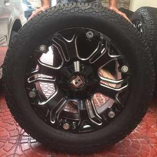 "20"" Ballistic Offroad Mags Nexen Tires"