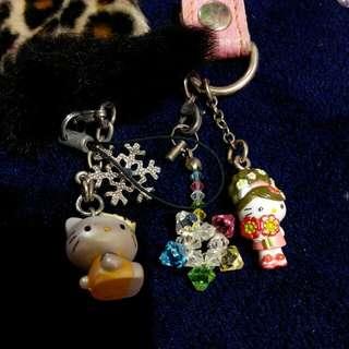 三麗鷗 kitty吊飾
