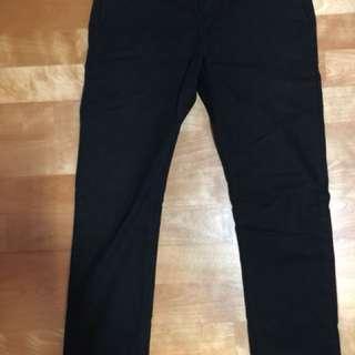 Dickies 810 黑色 窄版 工作 長褲