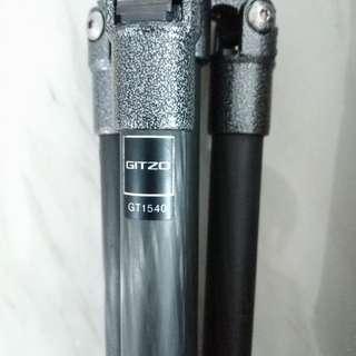 Gitzo gt1540 with original bag + free head carbon tripod