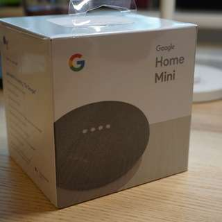 100% 全新 Google Home Mini (Charcoal)