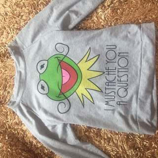 KERMIT D FROG SWEATER