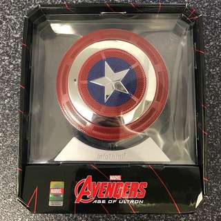Marvel 美國隊長藍牙喇叭+充電器