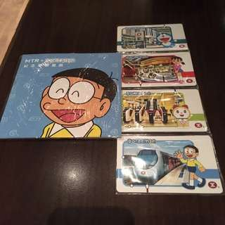 Doraemon 叮噹 MTR 紀念車票