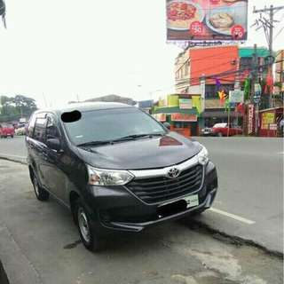 Toyota Avanza J 2017 Manual