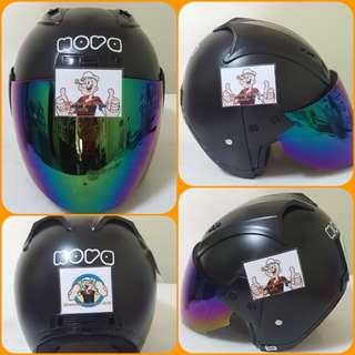 1801*** Nova Helmet For Sale 😁😁Thanks To All My Buyer Support 🐇🐇 Yamaha, Honda, Suzuki