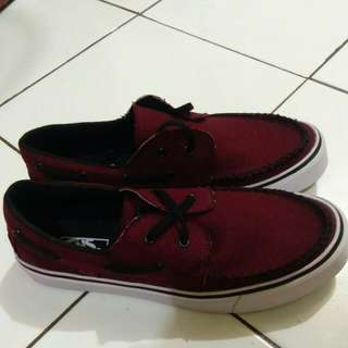 Vans Zapato Red