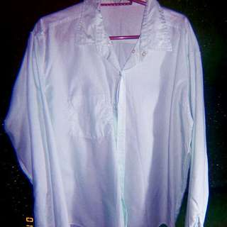 Longsleeve available color white and light bluegreen