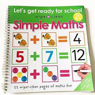 Wipe-Clean Simple Maths