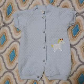 Preloved for baby boy 1-3months once lng nasuot ng baby ko.