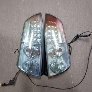 MYVI SE2 rear lights