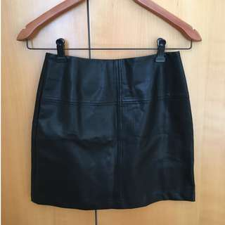 Princess Polly Faux Leather Skirt