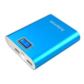Adamas Digital 20000mAh Smart Powerbank (with Digital LCD Indicator & LED Flashlight)