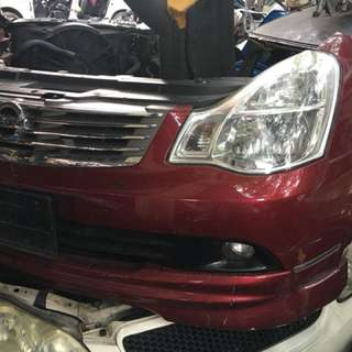 Nissan Sylphy 2012 /Nose Cut