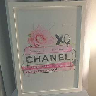 Chic Chanel Framed Print