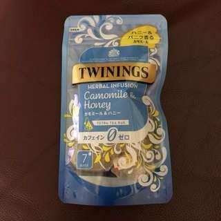 日本Twinings甘菊蜜糖茶包,包郵