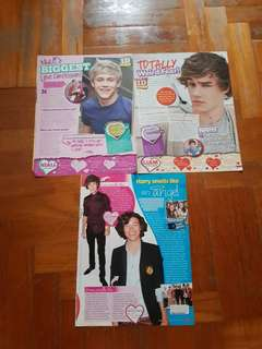 One direction posters & articles