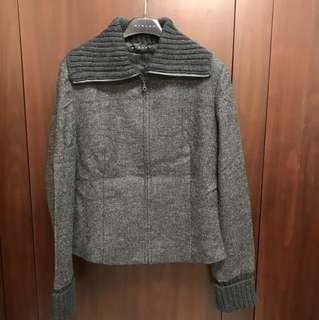 毛料短外套40號