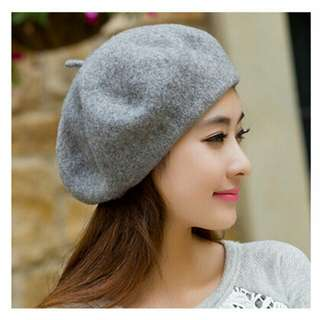 French Beret - Gray